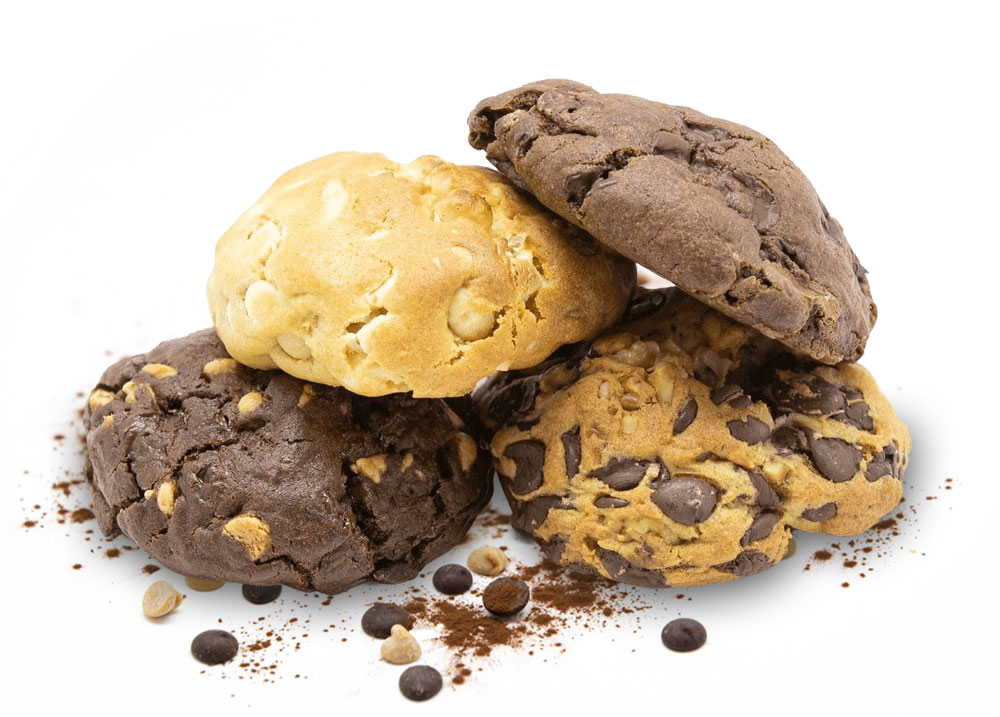 New York Style Baked Cookies by Cookie Doughboy