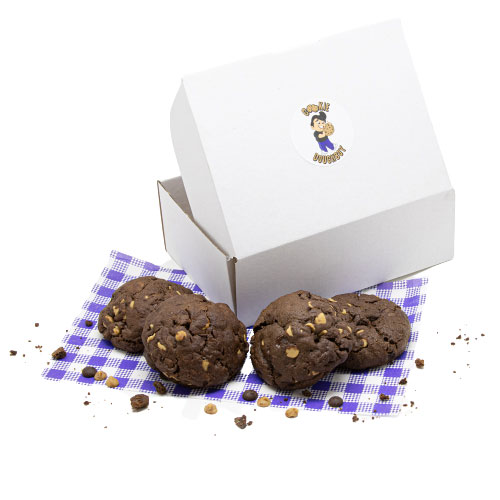 Chocolate w Dark Choc and Peanut Butter Chip - Box