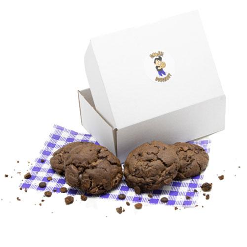 Chocolate w Milk and Dark Chip - Box
