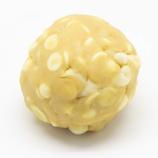 White Choc and Macadamia - Dough Ball