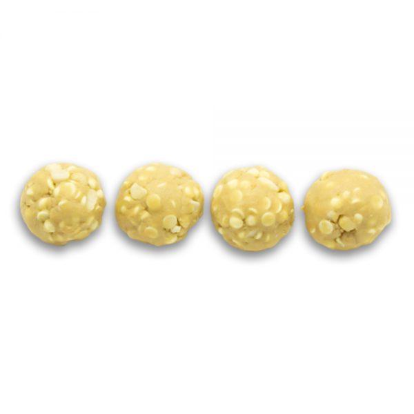 White Choc and Macadamia - Dough Balls